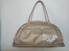 Купить оптом у производителя сумка для фитнеса 70 бежевая