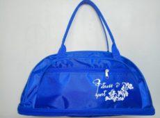 Купить оптом у производителя сумка для фитнеса 70 голубая