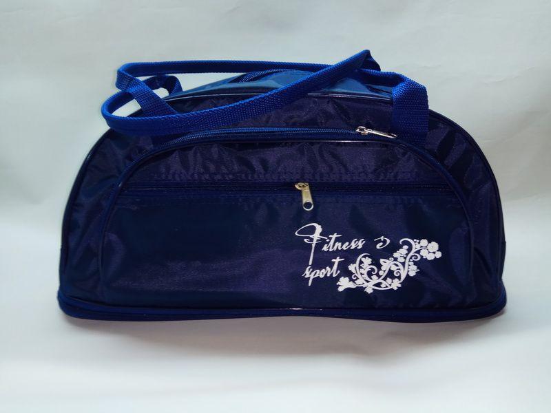Купить оптом у производителя сумка для фитнеса 70 синяя