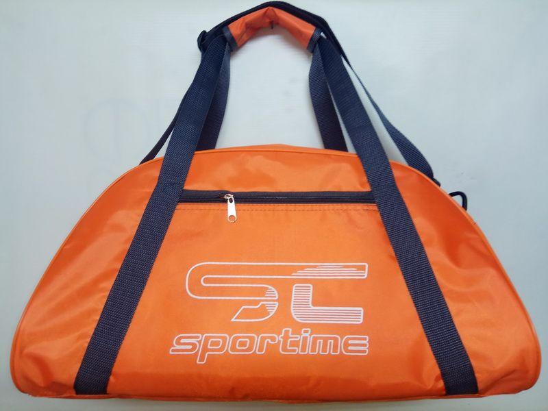 Купить оптом у производителя сумка для фитнеса №72 оранжевая
