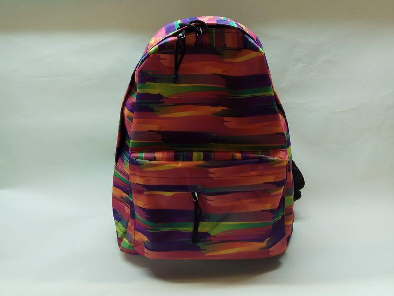 Купить оптом у производителя рюкзак 80Д красный штрих